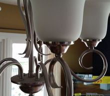 q cleaning glass shades on light fixture, cleaning tips, house cleaning