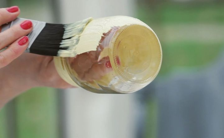 Step 3) Apply a thin coat of paint