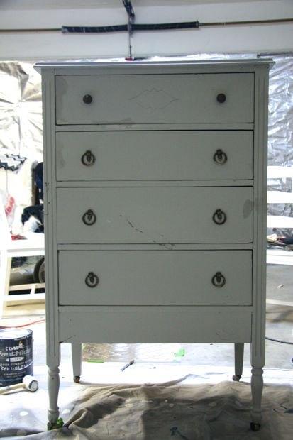 Diy Wood Tiled Dresser Hometalk