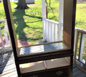 Center Bench Part - 33: Repurposed Entertainment Center To Bench, Diy, Entertainment Rec Rooms,  Outdoor Furniture, Painted