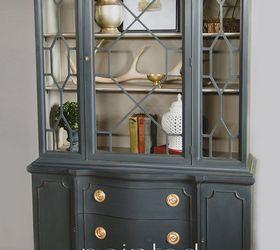 Annie Sloan Chalk Painted China Cabinet, Chalk Paint, Kitchen Cabinets,  Kitchen Design,