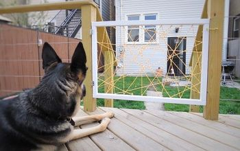 DIY A Super Hip Dog Gate