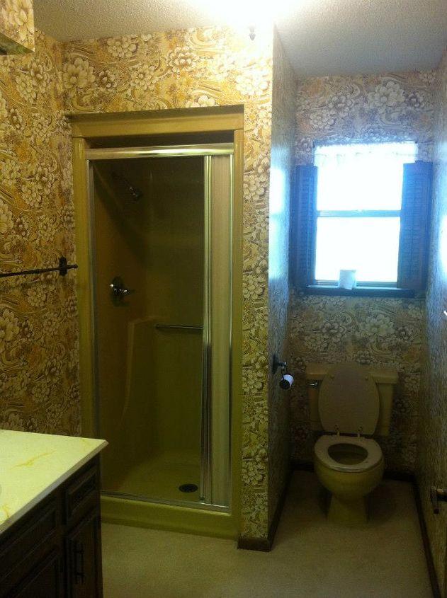 A Dated Bathroom Makeover DIY Style Hometalk - Makeover my bathroom