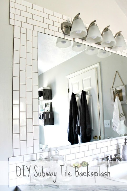 DIY Subway Tile Backsplash | Hometalk
