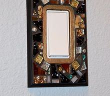 want to bling up you wall a bit how bout switch plate covers , crafts, wall decor