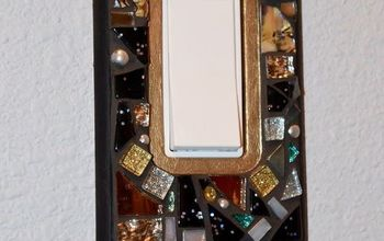 Want to Bling up Your Wall a Bit? How 'bout Switch Plate Covers?