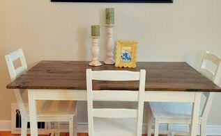 ikea table hack, chalk paint, diy, painted furniture