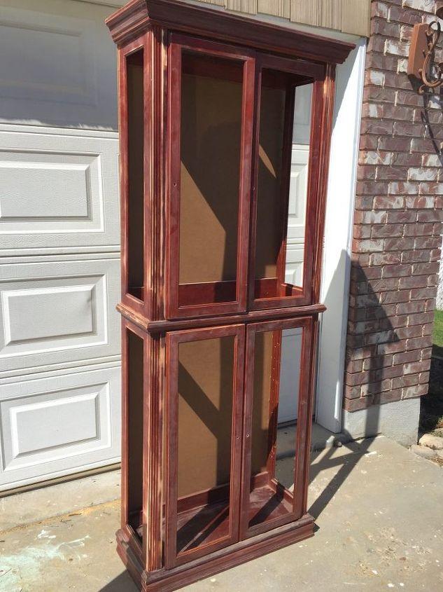 DIY Curio Turned Storage Cabinet | Hometalk