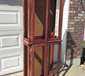 diy curio turned storage cabinet kitchen cabinets painted furniture & DIY Curio Turned Storage Cabinet | Hometalk