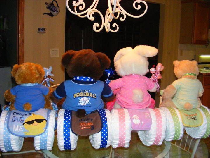 Baby Shower Gifts Vancouver ~ Diaper motorcycle baby shower gift . hometalk