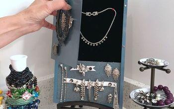 hidden jewelry box, crafts, how to, organizing, storage ideas