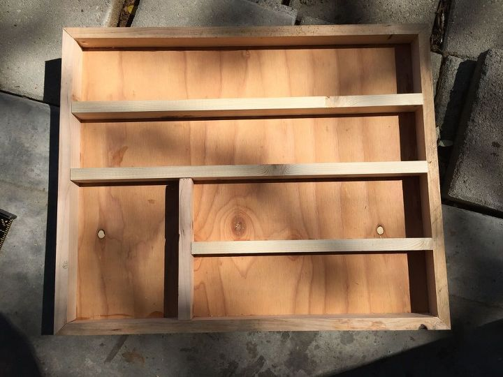 Diy Wood Nail Polish Rack Organization Organizing Woodworking Projects