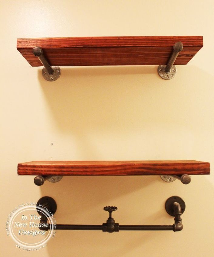 DIY Industrial Farmhouse Shelving | Hometalk