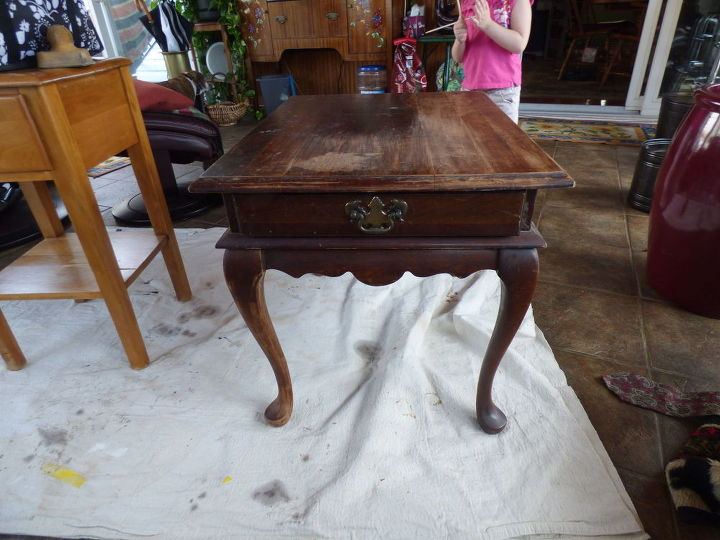another trash to treasure, chalk paint, painted furniture