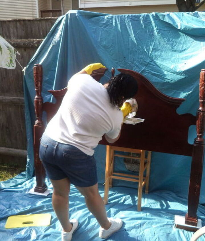 my daughter s surprise bedroom make over this sunday april 24 2016 i, bedroom ideas, painted furniture, painting