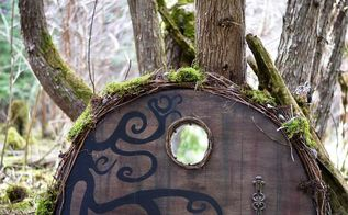 magical garden doors for fairies hobbits gnomes and more, crafts, doors, gardening