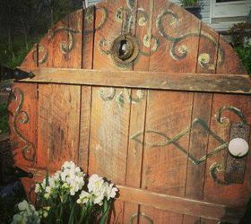 magical garden doors for fairies hobbits gnomes and more crafts doors gardening