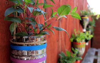 Upcycled Bottle Planters