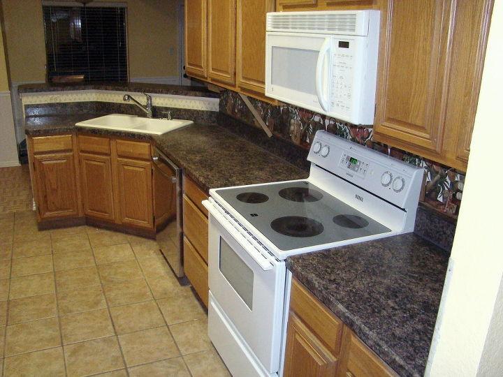 remodeling a 1980s kitchen on a budget, diy, home improvement, kitchen cabinets, kitchen design
