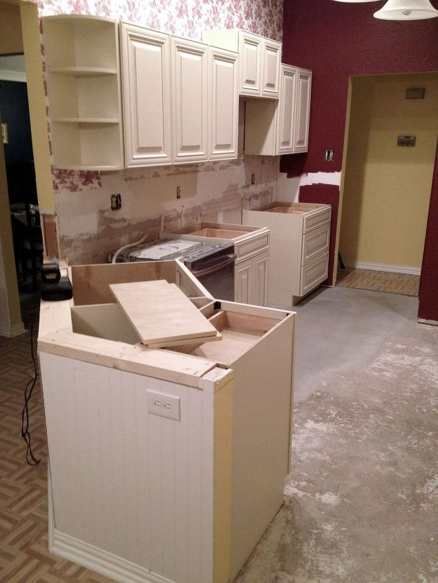 Remodeling A 1980s Kitchen On Budget Diy Home Improvement Cabinets