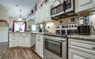 remodeling a 1980s kitchen on a budget, diy, home improvement, kitchen cabinets, kitchen design