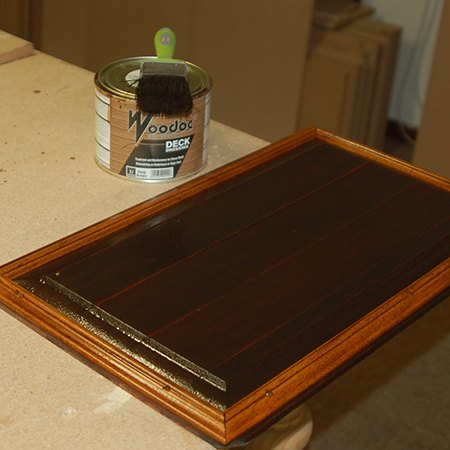 garage door panel upcycled, diy, doors, repurposing upcycling, woodworking projects