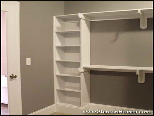 o in shelving a install shelves how guest closet to for hoh