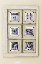an upcycled window frame makes a great frame, repurposing upcycling, wall decor, window treatments