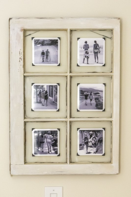 an upcycled window frame makes a great frame repurposing upcycling wall decor window - Window Picture Frame
