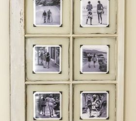 An Upcycled Window Frame Makes A Great Frame, Repurposing Upcycling, Wall  Decor, Window