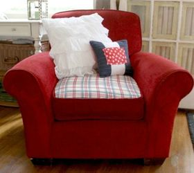 Add Patches To Ripped Cushions And Corners