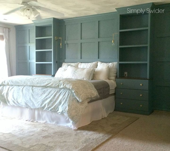 Diy Master Bedroom Built Ins Hometalk