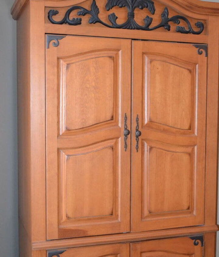 Turn An Old Tv Armoire Into A Wine Cabinet Hometalk