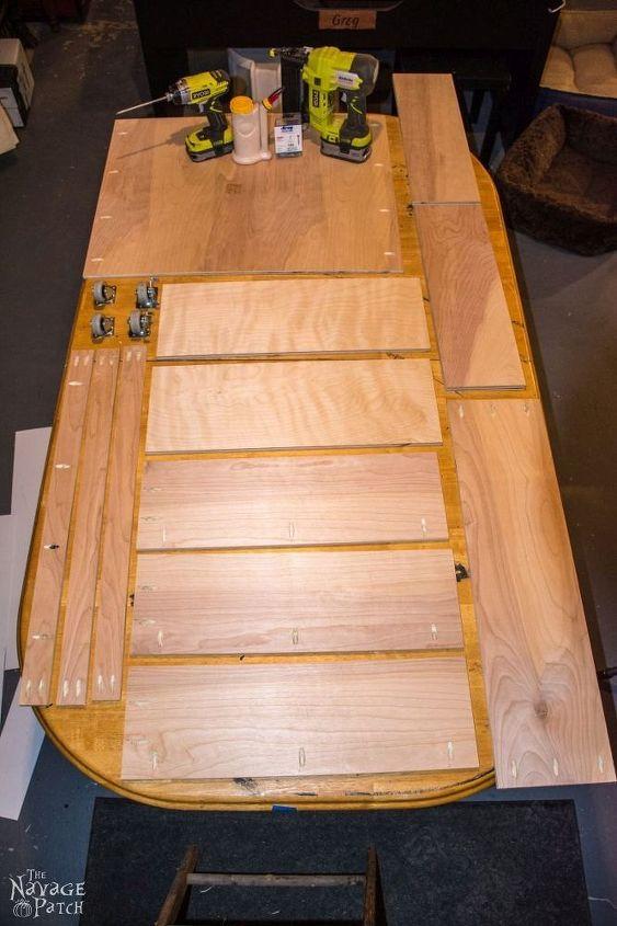 diy rolling jar storage, diy, how to, organizing, storage ideas, woodworking projects