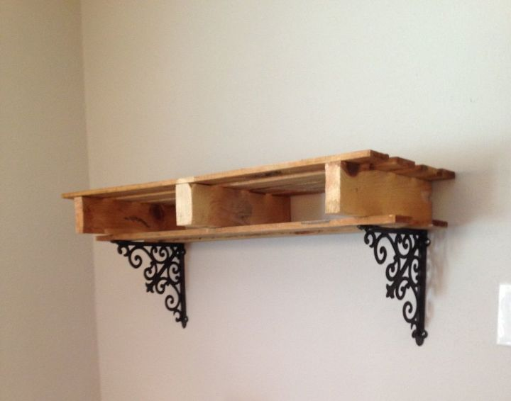 pallet pot rack, kitchen design, pallet, shelving ideas