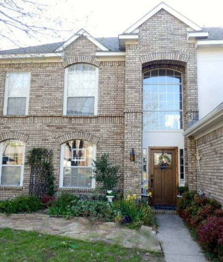 exterior shutters transform a 90s home, curb appeal, window treatments, windows