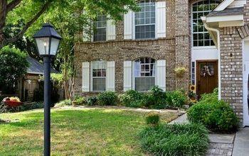 Exterior Shutters Transform A 90s Home