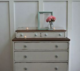 Coastal Beach House Dresser, Painted Furniture