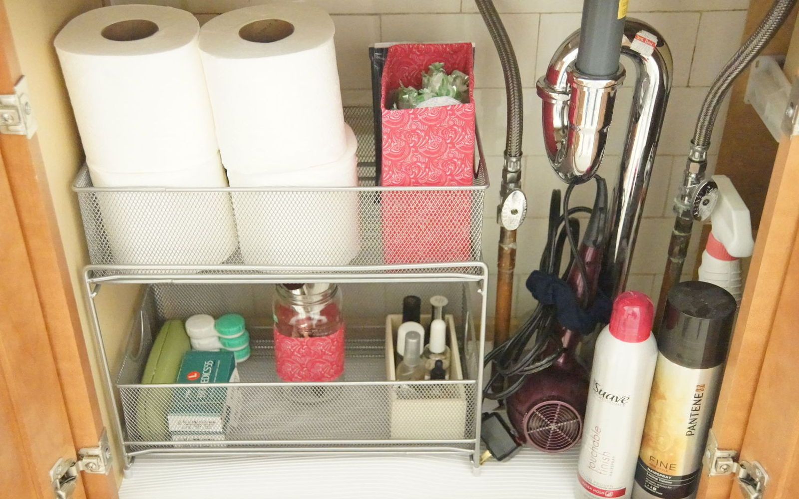 how to organize under your bathroom sink the 15 smartest storage hacks for your sink hometalk 26161