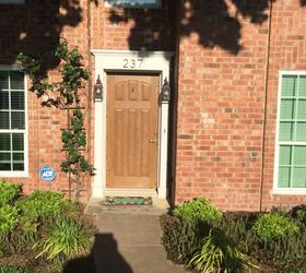 Note the camera exaggerated the heat blocking aspect of the front window. The eye does not see the green tint. What door color would you suggest? & Please help us select a color for our front door. | Hometalk