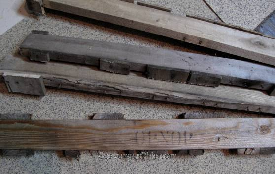 Take Apart A Pallet To Make This Unique And Sweet Gift Idea Hometalk