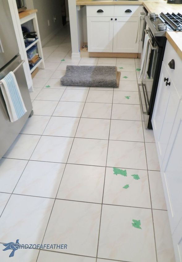 Got Chipped Floor Tile Try This Fix Hometalk