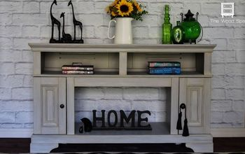 Pressed Wood Fireplace - From Cheap to Chic