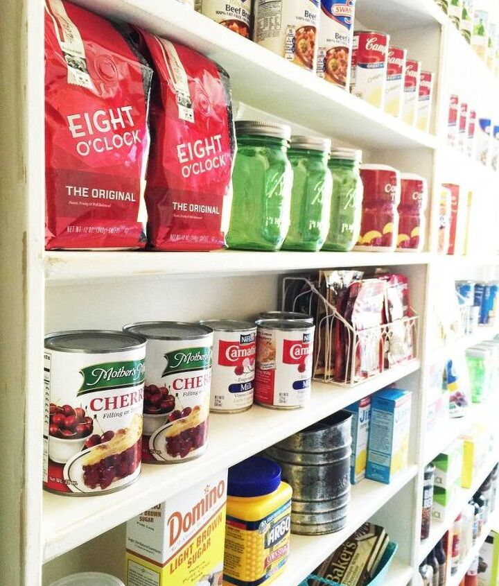 pantry makeover how to create new space find more natural light, closet, foyer, how to, laundry rooms, organizing, shelving ideas, storage ideas
