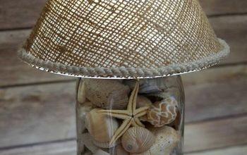 DIY Seashell Lamp
