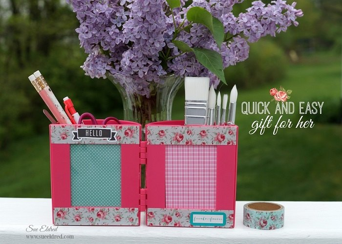 a quick easy gift for her, crafts, home office