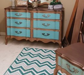 ... Painted Furniture French Provincial Bedroom Set Goes Bronze Hometalk