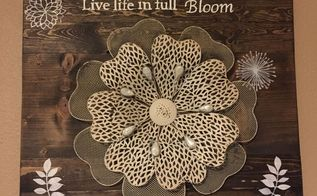 diy wood and metal decor wall art, crafts, wall decor, woodworking projects