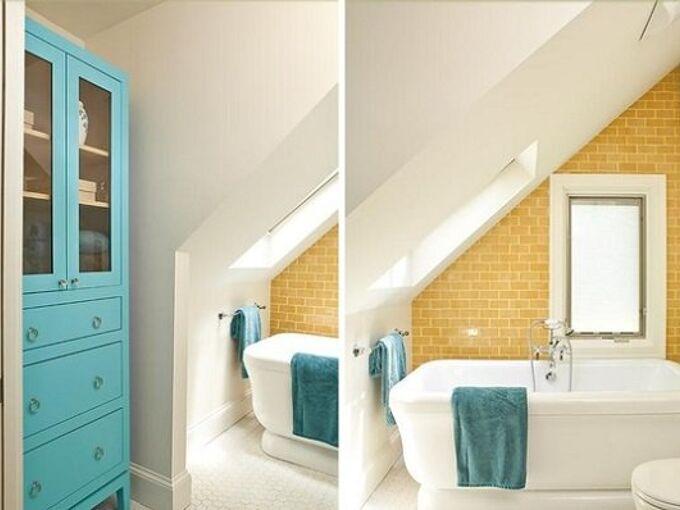 Hang A Shower Curtain In Bathroom