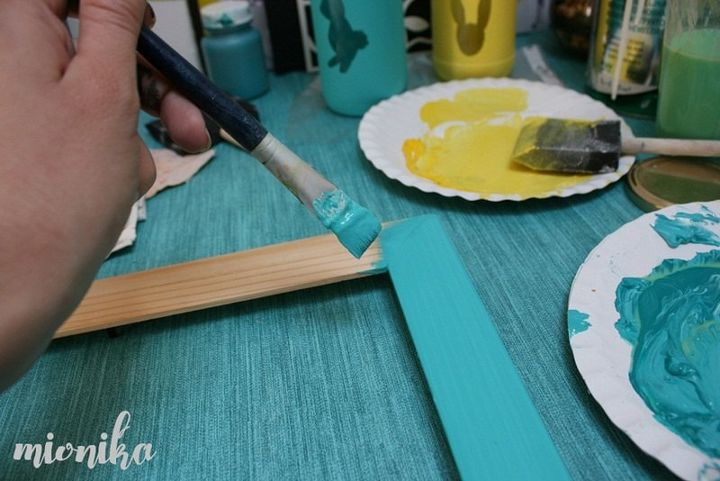 picture frame chalkboard diy, chalkboard paint, crafts, repurposing upcycling